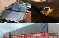 PM recupera Hilux, HB20 e cavalo mecânico em Cuiabá, Rondonópolis e Primavera do Leste