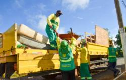 Mutirão da Limpeza atende Residencial São Carlos e bairros da região Oeste recebem operação na iluminação pública
