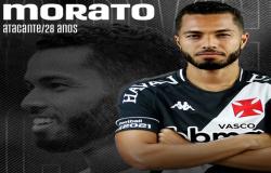 Vasco acerta a contratação do atacante Morato