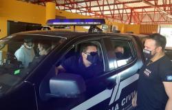 Deputado acompanha início da vacinação das forças de segurança em Rondonópolis