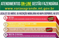 Várzea Grande reforça medidas de segurança, mas lembra que atendimentos podem ser online
