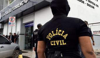 Polícia Civil cumpre buscas em 14 pontos investigados por tráfico de drogas na Capital