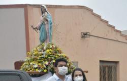 Carreata e novena marcam o início da festa de Nossa Senhora da Guia, padroeira da cidade