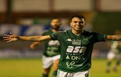 Guarani vence o Santo André fora de casa