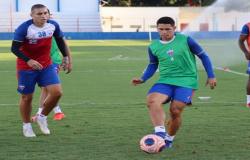 Fortaleza realiza treino com foco de partida contra o Ceará
