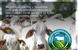 Inscrições para o Prêmio Pecuária Saudável são prorrogadas até 31 de maio