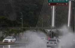 Chuva forte interdita casas na zona sul do Rio de Janeiro