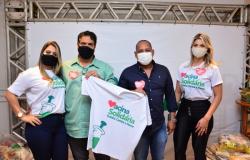 Câmara adere a campanha Vacina Solidária e entrega mais de 100 cestas básicas