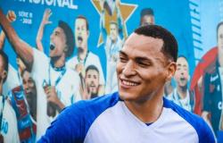 Zagueiro Titi novo reforço do Fortaleza realiza seu primeiro treino na equipe