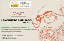 I Encontro Ampliado 2021 celebra os 100 anos de Paulo Freire