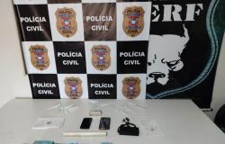 Polícia Civil prende mais um integrante de grupo que utiliza drones para enviar drogas para dentro de presídios