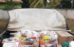 Homem é preso pela Polícia Civil com cestas básicas desviadas de programa do Governo do Estado