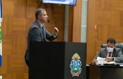 Faissal visita escola de Santo Antônio de Leverger que recebeu  88 mil em  emendas para reforma predial
