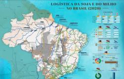 Estudo da CNA mostra que exportação de soja e milho pelos portos do Arco Norte cresceu 487,5% em 11 anos