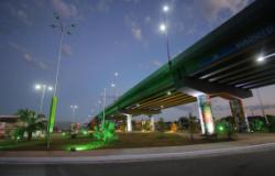 Com novo viaduto, prefeito 'acaba' com um dos maiores gargalos na mobilidade urbana de Cuiabá