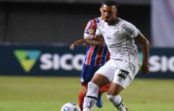 Santos perde para o Bahia de 3 a 0 pelo Campeonato Brasileiro