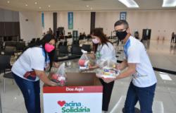 Profissionais da Educação do município aderem a Campanha Vacina Solidária