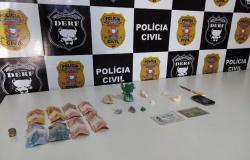 Mulher atuante com o tráfico é presa com drogas em Rondonópolis
