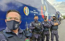 Guarda Municipal atua na escolta e segurança das seleções da Copa América