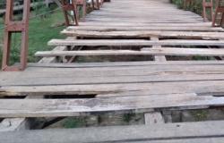 Manutenção de ponte e outros serviços sãosolicitados para o Distrito da Guia