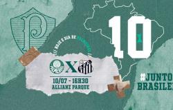 Palmeiras x Santos: números, estatísticas e curiosidades da partida