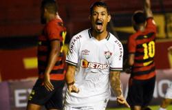Fluminense vence o Sport de virada com dois gols de Lucca fora de casa