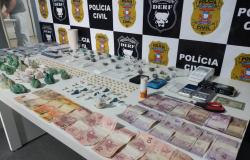 Polícia Civil prende quatro pessoas durante buscas para desarticular tráfico de drogas em Rondonópolis