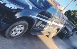 Polícia Civil apreende caminhonete utilizada na fuga de criminosos no roubo em Nova Bandeirantes