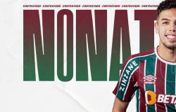 Fluminense assina com Nonato
