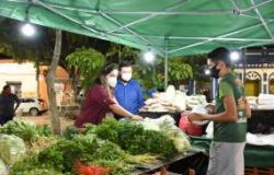 Beco do Candeeiro ganha novo aroma e sabor com feira gastronômica e de frutas, verduras e legumes