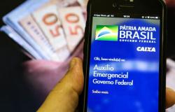 Caixa pagaquintaparcela doauxílio emergencial a nascidos em julho