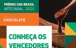CNA premia os melhores chocolates artesanais do Brasil