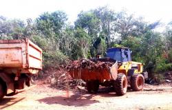 Lagoa do Jacaré recebe mutirão de limpeza