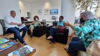 Vereadora discute com executivo PL contra queimadas