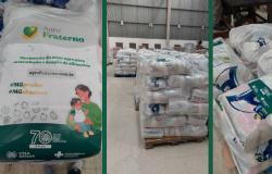 Sistema FAEMG doa mais de 7 mil cestas básicas para famílias rurais