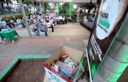 """Associação """"Amigos do Bem"""" promove campeonato na 1ª Semana  Municipal da Pessoa com Deficiência e  doa alimentos à Vacina Solidária"""