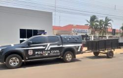 Polícia Civil recupera em Campo Novo dos Parecis carretinha furtada em Tangará da Serra