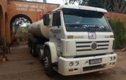 Prefeitura disponibiliza caminhões-pipas para apoio em operação no Pantanal durante o fim de semana