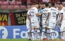 Santos FC empata em 0 a 0 com Sport na Arena Pernambuco