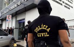 Réu pela morte da ex-convivente tem prisão cumprida pela Polícia Civil