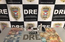 Polícia Civil prende mulher com comprimidos de ecstasy e outras drogas durante buscas em Cuiabá