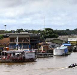 Moradoras da Ilha de Marajó fazem exames preventivos contra o câncer
