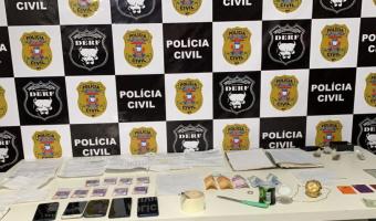 Quatro são presos pela Polícia Civil em 'escritório do crime' criado para aplicar golpes de estelionato