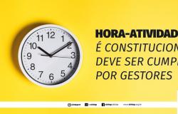 Hora-atividade é constitucional e deve ser cumprida por gestores
