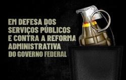 Reforma Administrativa: Servidores realizam atos no estado contra o fim dos serviços públicos