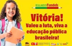 FUNDEB para a escola pública!