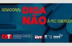 CNTE convoca categoria para lutar contra a PEC Emergencial