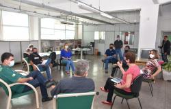 AUDIÊNCIA ENTRE A DIREÇÃO DA SUBSEDE E PREFEITO DE CUIABÁ É REALIZADA NA SEDE DO SINDICATO