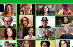 ARTISTAS REALIZAM ATO PELO IMPEACHMENT DE BOLSONARO