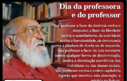15 DE OUTUBRO-DIA DA PROFESSORA E DO PROFESSOR